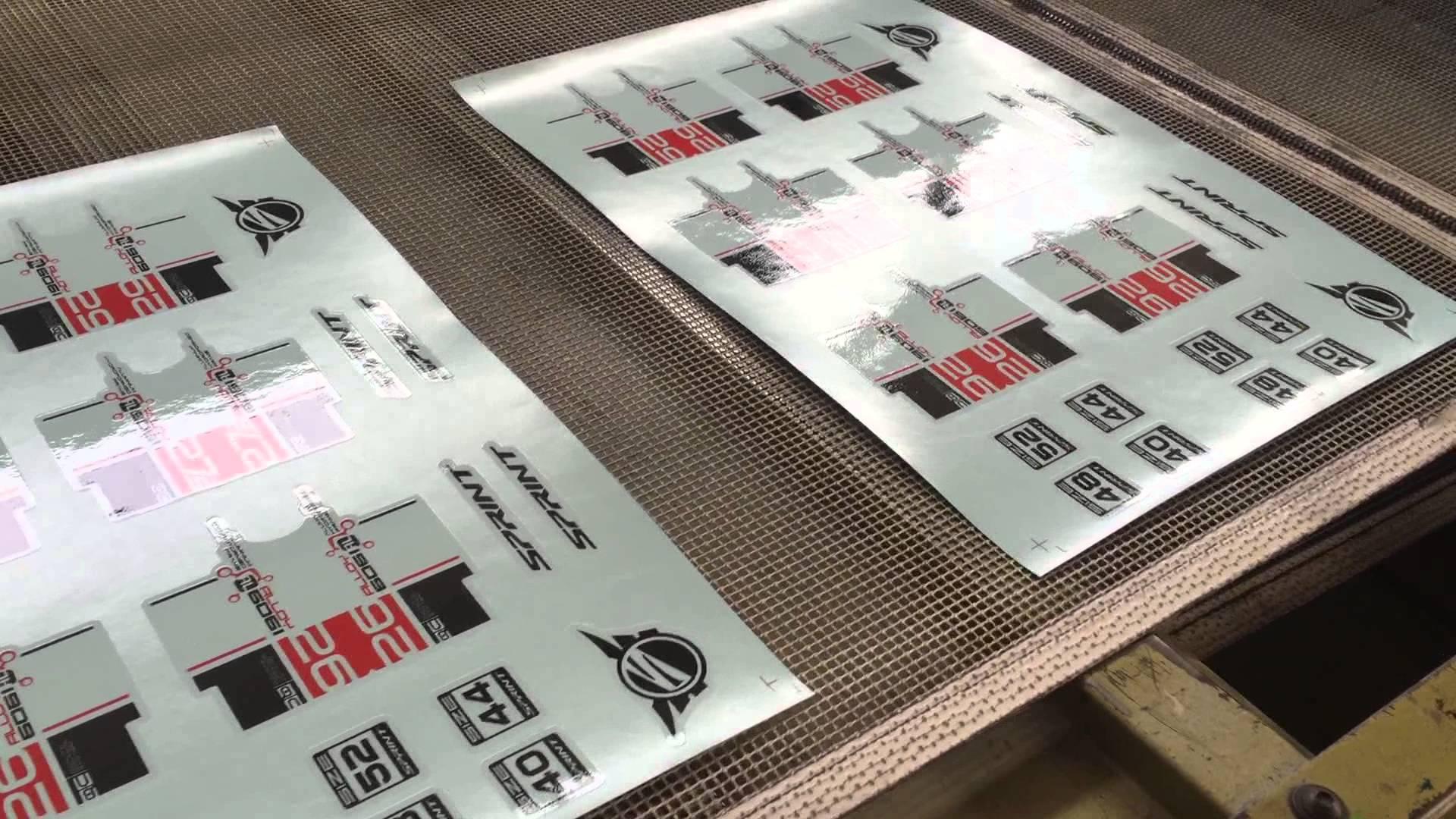 Water Slide Decal Printing Procedure