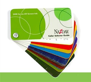 3400 Series Ink Color Card (CARD34)