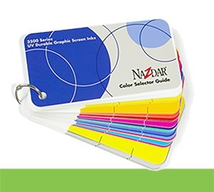 3500 Screen Inks Color Card (CARD35)