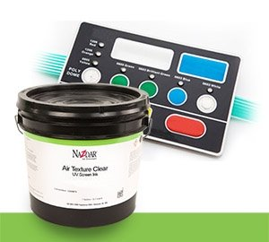 NSC UV Air Texture Clear Screen Inks