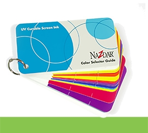 UV Curable Screen Inks Color Card (CARDUV)